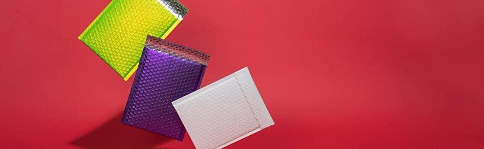 Pillar Box Red Blake Purely Packaging CD 165 x 165 mm Matt Metallic Padded Bubble Envelopes Peel /& Seal Pack of 100 MTPBR165