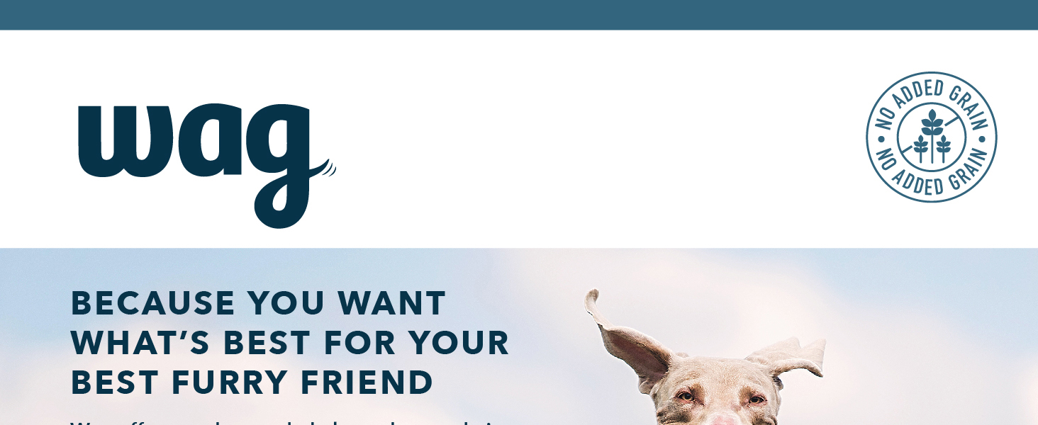 wag, amazon brand, dog food, dog, dogs, furry friend, feed dogs, meat for dogs