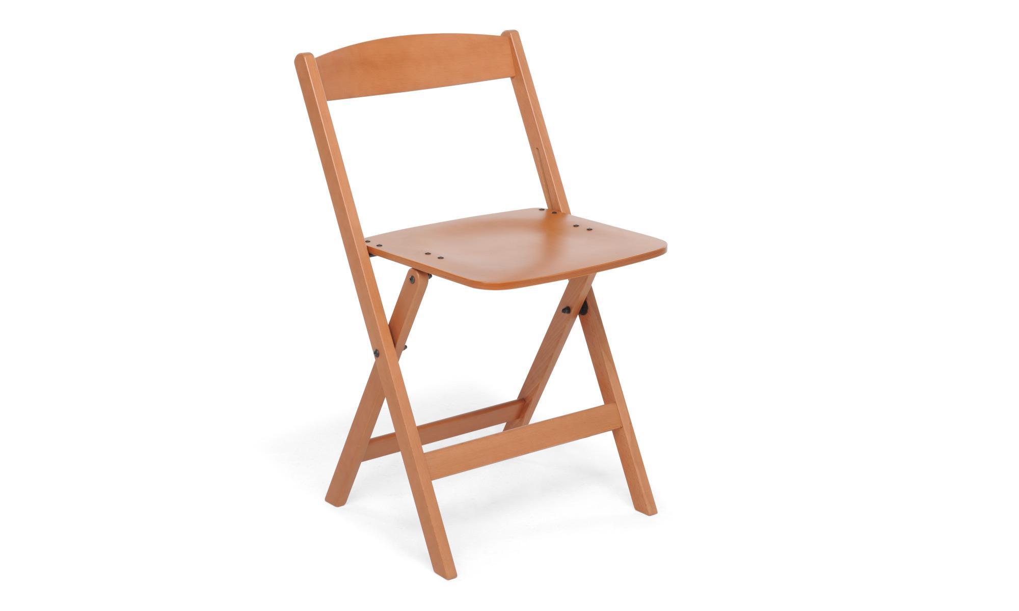 Foppapedretti luna sedia pieghevole in legno noce 1 - Tavolo pieghevole foppapedretti ...