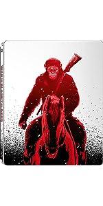【Amazon.co.jp限定】猿の惑星:聖戦記(グレート・ウォー) 3D & 2D ブルーレイセット スチールブック仕様 [Blu-ray]