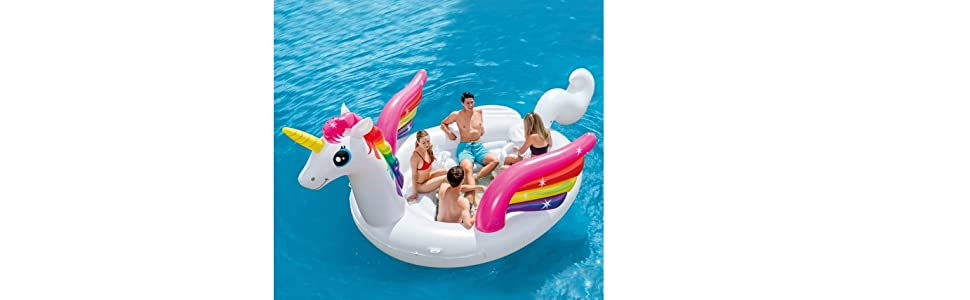 INTEX 57266EU - Unicornio Hinchable Gigante