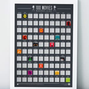 Gift Republic (GR630004) Bucket List Poster 100 Movies