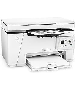HP LaserJet Pro MFP M26nw Laser A4 Wifi - Impresora multifunción (Copiar, Escanear, Imprimir en Blanco y Negro) Blanco