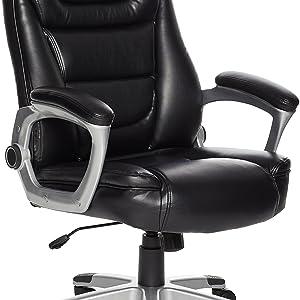 AmazonBasics Semi-Assembled Office Chair