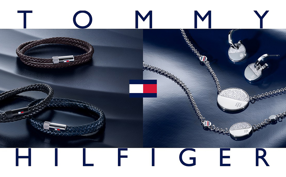 TOMMY HILFIGER MEN'S STAINLEES STEE