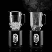 Braun JB5160BK Identity - Batidora de vaso, 1000 w, jarra de ...