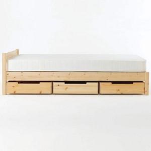下 収納 ベッド 無印