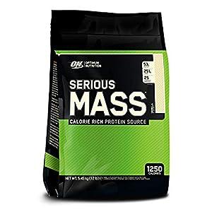 Optimum Nutritin Serious Mass Vanilla Flavor