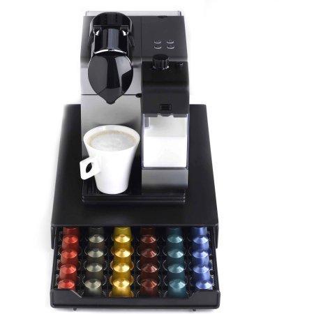 Nifty nespresso capsule drawer holds 60 nespresso for Porte 60 capsules nespresso
