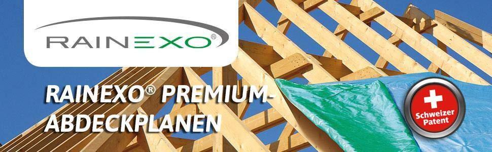 Bio Green Lona Rain Exo Verde/Azul RX150-2x3 Rain Exo 2x3m Extremadamente Resistente