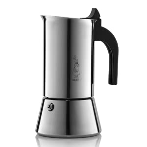Bialetti 06969 venus Stovetop espresso coffee maker, 6 -Cup, Stainless Steel