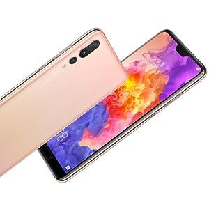 Huawei P20 Pro Dual SIM - 128GB, 6GB RAM, 4G LTE, Pink Gold