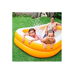 Intex 57181NP - Piscina hinchable rectangular 229 x 147 x 46 cm ...