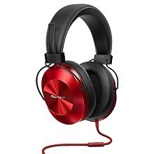 Pioneer SE-MS5T-K - Auriculares de tipo diadema (HiRes, power bass ...
