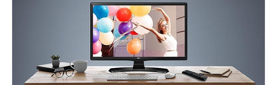 LG Electronics 24TK410V-PZ - Monitor/TV de 24