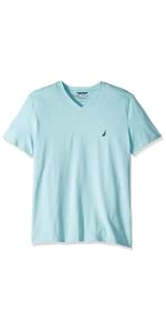comfortable crew vneck shirt everyday styling versatile solid classic fit