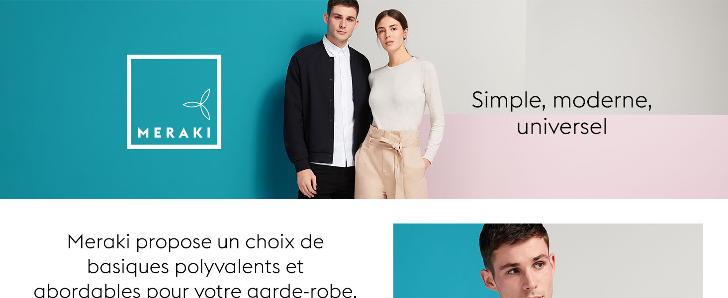 Lot de 5 Marque MERAKI ILNA5531 Chaussettes invisibles en coton Femme