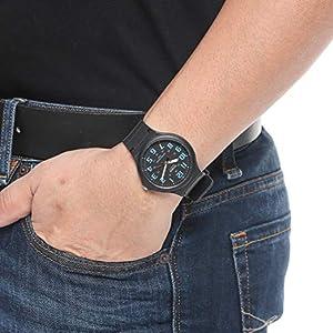 Casio resin band watch, Casio Men's watch