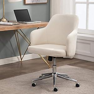 AmazonBasics Classic Adjustable Office Chair - Twill Fabric