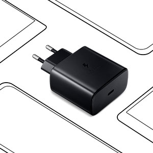 Samsung PD 45W Super Fast Charger With USB Type - C to Type - C Cable 5A