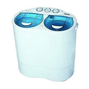 Nikai Top Load Baby Washing Machine with Multi Programs, White - NWM250SP