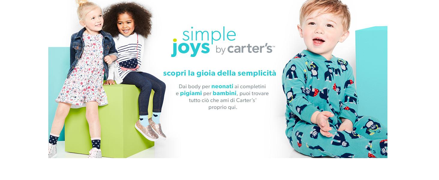 Calzini per neonati e bambini confezione da 12 Simple Joys by Carters