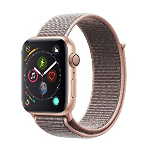 e05a7588a Apple Watch Series 4-44mm Gold Aluminum Case with Pink Sand Sport ...