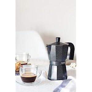Monix Vitro Noir – Cafetera Italiana de Aluminio, Capacidad 12 ...