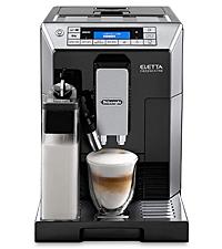 デロンギ コンパクト全自動コーヒーメーカー エレッタ カプチーノ トップ ECAM45760B