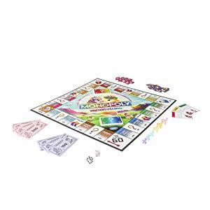 monopoly game; classic monopoly; board games; games played in teams; llama merchandise; unicorns