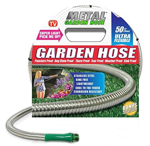 Metal Garden Hose, The Original 304 Stainless Steel Hose