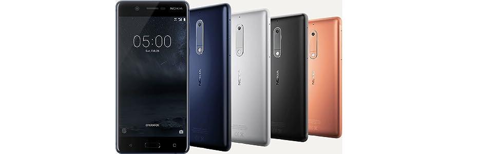 Nokia 5 SIM Doble 4G 16GB Azul - Smartphone (13,2 cm (5.2
