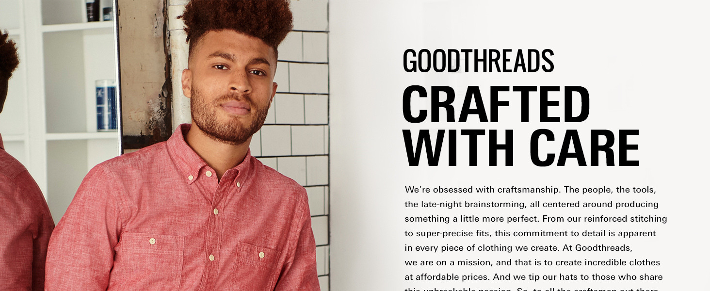 Amazon Brand - Goodthreads Mens Bomber Jacket