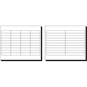 amazon com avery worksaver tab inserts 2 inches white 100
