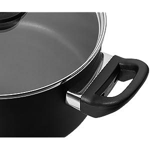 Amazon.com: AmazonBasics - Batería de cocina antiadherente ...
