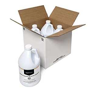 AmazonBasics Multi-Purpose Enzyme Cleaner, 1-Gallon, 4-Pack