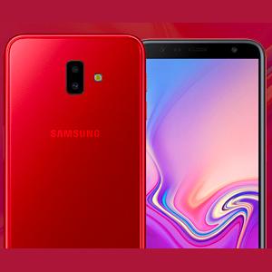 Samsung Galaxy J6 Plus Dual Sim - 32GB, 4G LTE, Red