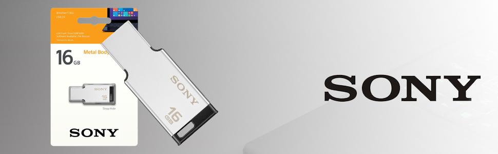 Sony 16GB USB Metal Pendrive