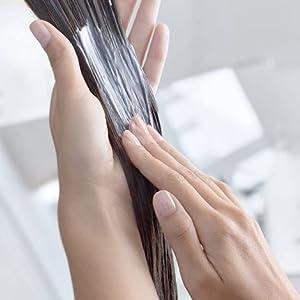 L'Oreal Absolut Repair Champú cabello dañado aplicación