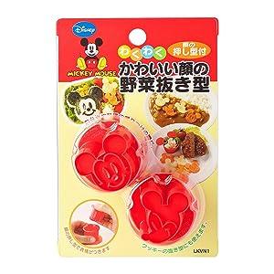 スケーター 野菜抜き型 ミッキーマウス ディズニー