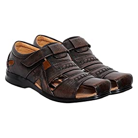 52c8d343ffd7c Casual leather sandals for men by Zoom – Create a signature look of your  own!