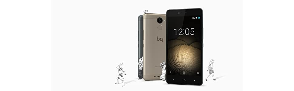 BQ Aquaris U Plus - Smartphone de 5 (WiFi, Bluetooth 4.2 ...