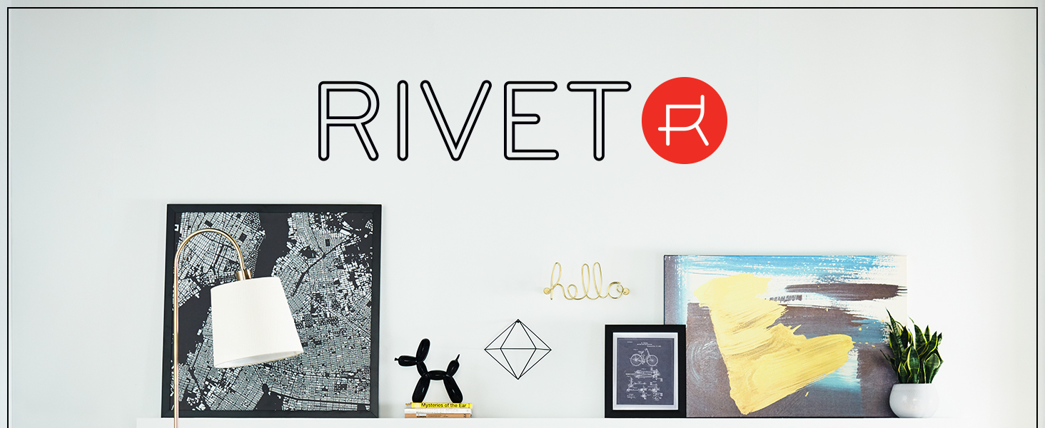 Rivet, midcentury modern, small space, apartment, studio, coffee table, side table, table