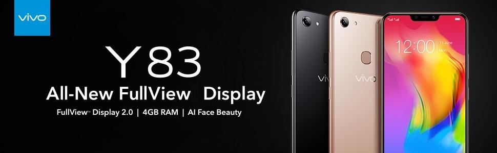 Vivo Y83 (Black, 4GB RAM, 32GB Storage) with Offers
