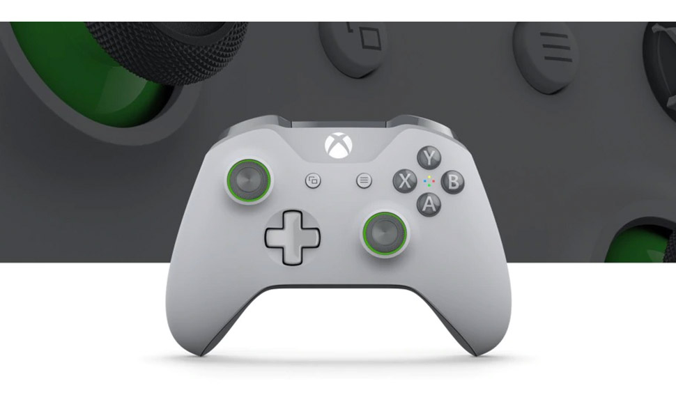 Microsoft Xbox Wireless Controller - Grey/Green