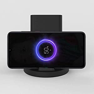 Xiaomi 20W Vertical Wireless Charger Flash Charging Stand Holder Horizontal for iPhone