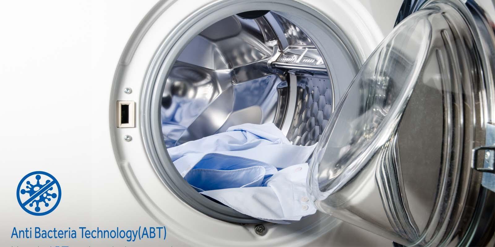 Haier Kg FullyAutomatic Front Loading Washing Machine HW - Abt washers