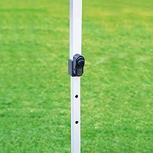 キャプテンスタッグ テント タープ サンシェルター クイックシェード 375×250UV- S キャスターバッグ付 M-3279
