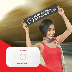 Airtel 4G Hotspot – E5573Cs-609 Portable Wi-Fi Data Device (White)