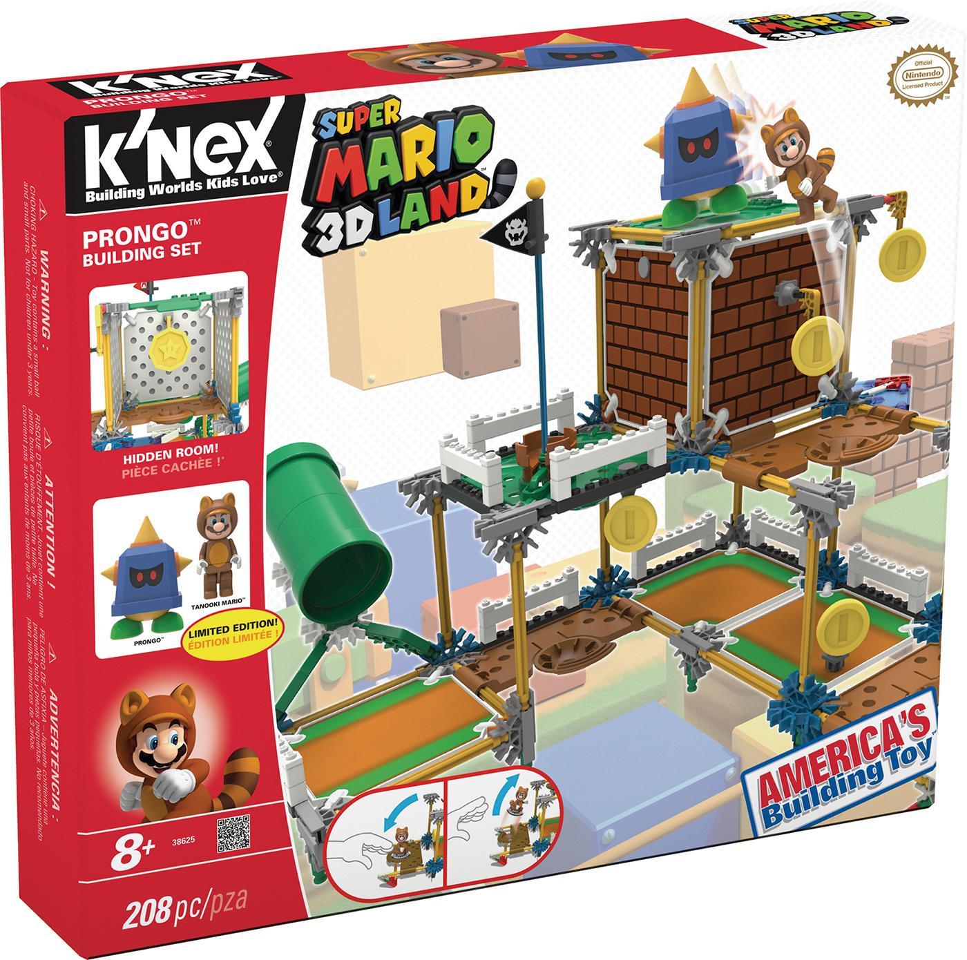 Knex Super Mario Bros - Set construcción Deluxe Prongo, 208 Piezas (Fábrica de Juguetes 41012): Amazon.es: Juguetes y juegos